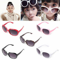 Cute Anti-UV Sunglasses Kids Boys Baby Girls Cartoon Goggle Polarized Glasses