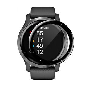NEW 1PCS For Garmin Vivoactive 4 (45mm) Full Cover Tempered Screen Protector AU