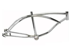 BICYCLE FRAME FOR SCHWINN STINGRAY PARTS 20 INCH CHROME RAT ROD KRATE NEW