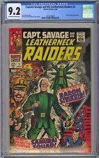 Capt. Savage and his Leatherneck Raiders #2 CGC 9.2 NM- OwWp Marvel Comics 1968