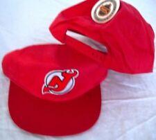 NEW NHL LICENSED NEW JERSEY DEVILS RED RETRO VINTAGE SNAPBACK HAT baseball cap