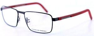 PORSCHE DESIGN P'8300 A Black Titanium Mens Full Rim Eyeglasses 57-17-145 ITALY