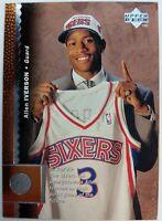 1996 96-97 UPPER DECK Allen Iverson ROOKIE RC #91, Foil HOF PHILADELPHIA 76'ERS