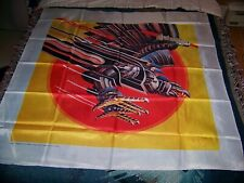 Vintage 1982 JUDAS PRIEST SCREAMING FOR VENGEANCE 45X45 Tapestry Flag Banner 80s