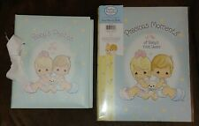 Vtg Precious Moments New Fill-In Memory Book & Vguc Photo Album Baby Shower Gift
