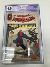 Marvel Comics Amazing Spider Man 23 CGC Restored Grade 4.0