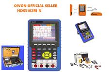 Owon HDS3102M-N 2CH 1GS/s 100MHz Handheld Digital Storage Oscilloscope +Suitcase