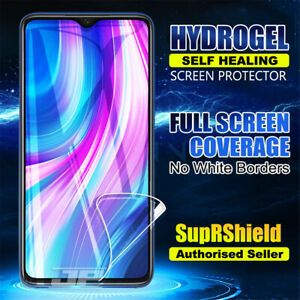 For Xiaomi Redmi Note 8 Pro SupRShield HYDROGEL Full Cover Screen Protector
