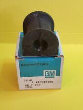 GM Original Equipment Suspension Stabilizer Bar Bushing 15MM Rear NOS 10018195