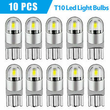 GOUSHINE T10 Led Bulb 168 Led Bulb 194 Led Bulb W5W Wedge Car Light Bulb Extremly Bright Blue 5-5050 SMD 100LM for Auto Car Interior Light Bulb Dome Light License Plate Trunk Light Lamp 12V Pack of 10