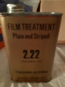 Film Treatment Plain and Stripped 2.22 - Eliminates scratches, cleans, preserves