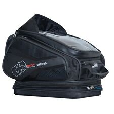 OXFORD Q30R  Magnetic Tankbag Black Lifetime Motorcycle Luggage Backpack OL272