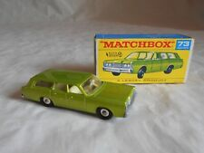 Matchbox Lesney No73 1968 Mercury station wagon with auto steer boxed
