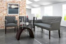 2 Sitzer Chesterfield Bank Sofa Couch Warte Arzt Kanzlei Praxis Stuhl Neu