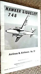 AIRLINES & AIRLINERS #12: HAWKER SIDDELEY 748 / Harry Holmes (1973)