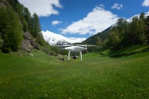 DJI Phantom 4 Pro Quadcopter - White + Auto Charger and Docking Station