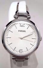 Fossil Georgia Stainless Steel Ladies Watch ES3246 BROKEN! Hairline Scratches