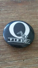 Q-tips soul new wave logo band buttons vintage SMALL BUTTON