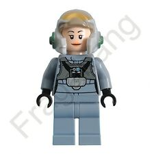LEGO 75150 Star Wars Female A Wing Pilot Minifigure (Split from set 75150)