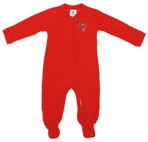 Outerstuff NFL Infants Tampa Bay Buccaneers Blanket Sleeper Coverall