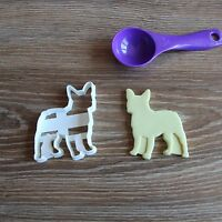 French Bulldog Frenchie Cookie Cutter Dog Pup Pet Treat puppy Pupcake topper