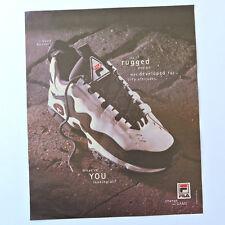 FILA Quad Runner / Advert Publicidad Pubblicita Publicite Reklame Sneaker Shoe