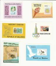Maldive Islands, Postage Stamp, #820, 825, 847, 852, 860, 867 Mint NH, JFZ
