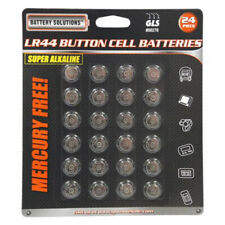 24 PC AG13 LR44 357 BUTTON CELL BATTERIES ALKALINE Coin Watch Camera Remote