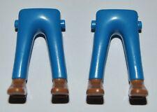 16701 Piernas azules zapatos camel 2u playmobil,leg,vaquero,cowboy