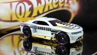 2012 Hot Wheels  HW Code Cars '12  CUSTOM '11 CAMARO White w/Black Pr5sp