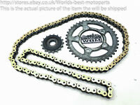 Kawasaki ZZR1400 ZZR 1400 ZX14 (2) 06' Front and Rear Sprockets Chain