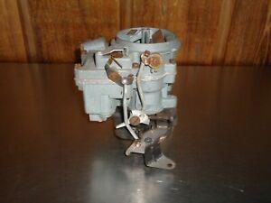 Rebuilt Rochester 2-Barrel Carburetor Carb 2-Jet 2gc 7011997 1957 Pontiac 347 V8