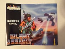 Vintage! Mint ! Silent Assault Nintendo NES Instruction Manual Booklet Only
