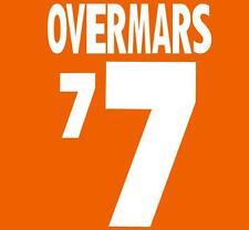 World Cup 1994 Overmars 7 Home Football Name set for National shirt