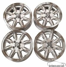 Triumph Spitfire and GT6 Minilight Alloy wheels /Rims SILVER