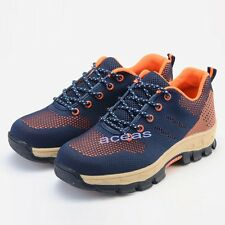 Summer Men's Steel Toe Breathable Boots Work Safety Shoes Factory Security Shoes