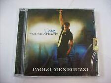PAOLO MENEGUZZI - LIVE MUSICATOUR - CD SIGILLATO 2007