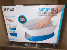New listing Paraffin Wax Bath Warmer Machine for Hand Feet Spa Hypoallergenic ParaSpa Blue