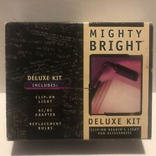 Mighty Bright Clip-On Reader's Light and Accessories Deluxe Kit
