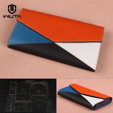 Wuta Envelope Clutch Wallet Acrylic Template Leather Pattern Diy Craft Tools 728