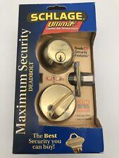 SCHLAGE Ultima Maximum Security Deadbolt GRADE 1 NIB New [322]