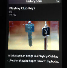 As seen on PAWN STARS TV: 1959 Vintage Playboy Club FOUNDER C1 key 1 of 8 $100K