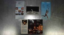 1976 XXI MONTREAL OLYMPIC GAMES SOUVENIR PACK,GAMES GUIDE, RENÉ SIMARD