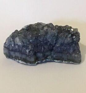 Blue Quartz Crystal Healing 5.5cm 70g Throat Chakra