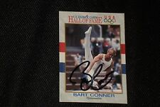 BART CONNER 1991 IMPEL OLYMPICS HALL OF FAME SIGNED AUTOGRAPHED CARD GYMNASTICS