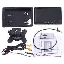7 INCH HD TFT COLOR LCD CAR MONITOR SUPPORT ROTATING DIGITAL SCREEN ,2 AV INPUT