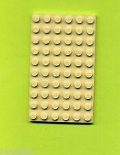Lego--3033 -- Grundplatte -- Bauplatte --- Tan/Beige -- 6 x 10 --