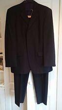 Mans pure new wool Black 2 piece suit