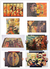Classic Naruto Anime Art Kraft Paper Cafe Retro Poster Decorative Painting