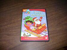 NICK JR. DORA THE EXPLORER DORA'S CHRISTMAS DVD EXCELLENT CONDITION